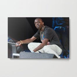 Bobby Shmurda - Ackquille Jean Pollard - Rap - S6 - Hot Nigga - Brooklyn - Gang - GS9 - HipHop 112 Metal Print
