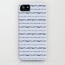 Denim Cloud Stripe 1 iPhone Case