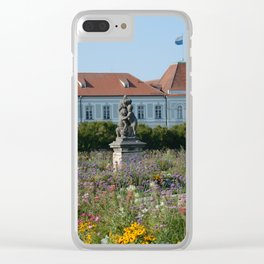 Wildflowers at Schloss Nymphenburg, Munich Clear iPhone Case