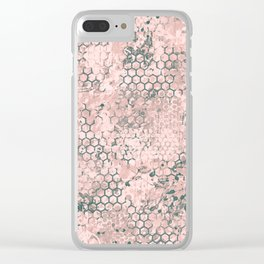 Blush Odyssey Clear iPhone Case