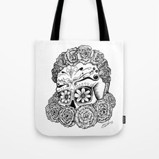 Katrina (white version) Tote Bag