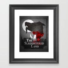 The Slaughtered Lamb Framed Art Print