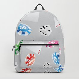#casino #games #accessories #pattern 8 Backpack