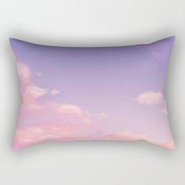 Sky Purple Aesthetic Lofi Rectangular Pillow