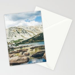 Mountain Lake 4 Stationery Cards