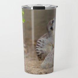 Meerkats - We're on the Lookout Travel Mug