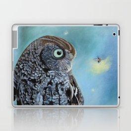Owl and Lightning Bugs Laptop & iPad Skin