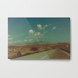 home is on the highway Metal Print