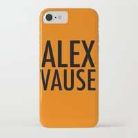 alex vause iPhone & iPod Cases featuring Alex Vause (2) by Zharaoh