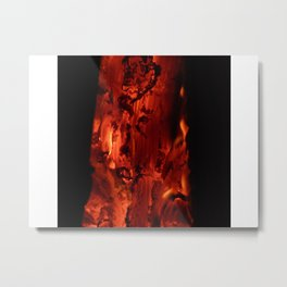 Embers Within Metal Print