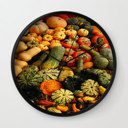 Colorful Autumn Wall Clock
