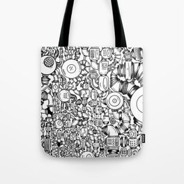 Contraptions 1 Tote Bag
