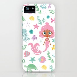 Kritter Mermaid Sea iPhone Case