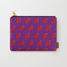 Ladybug Pattern_F Carry-All Pouch