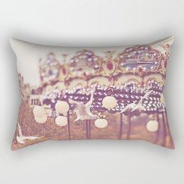 Paris Carousel Rectangular Pillow