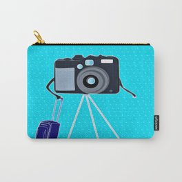Camera on a photographic trip Carry-All Pouch