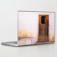 door Laptop & iPad Skins featuring Door by  ETE*
