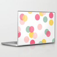 confetti Laptop & iPad Skins featuring confetti by her art