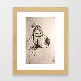 Looking to Something Else Framed Art Print