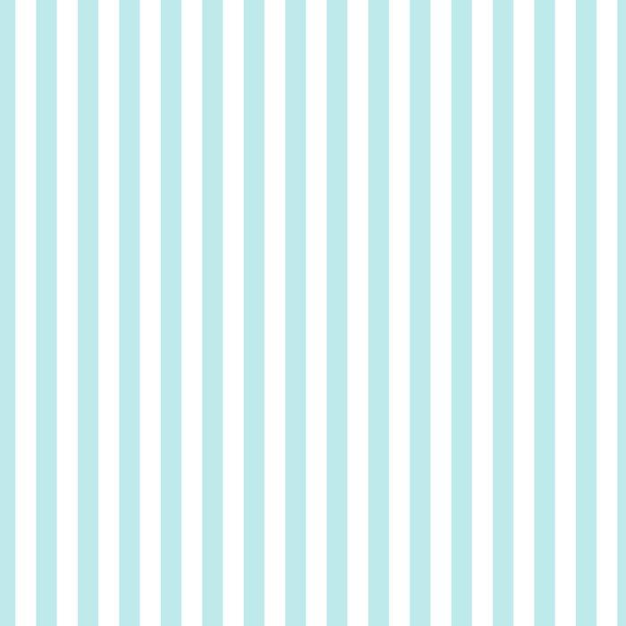 Striped- Turquoise vertikal stripes on white- Maritime Summer Beach Leggings