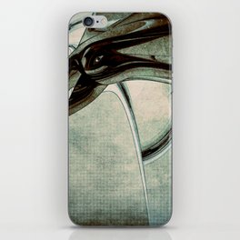 Abstract Blue Form iPhone Skin