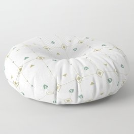 Jazzy Okami Pattern Floor Pillow