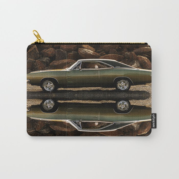 1968 Dodge Charger R/T - Like A Rock (Full Reflection) Carry-All Pouch