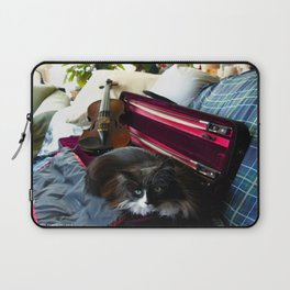 The Cat and the Fiddle (Gracie Queen of Chicago Collection) Laptop Sleeve