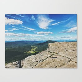 McAfee Knob Lookout •Appalachian Trail Canvas Print