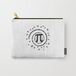 Pi Spiral Novelty Shirt for Pi Day Carry-All Pouch