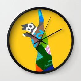 Right Hand Wall Clock