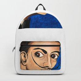 Salvador Dalí portrait Backpack