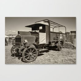 AEC War truck Canvas Print
