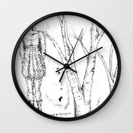 stipples Wall Clock