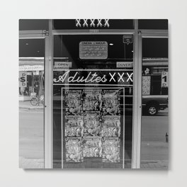 XXX Metal Print
