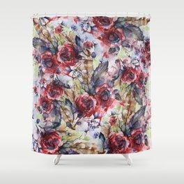 Bloodflowers Shower Curtain