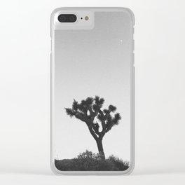 JOSHUA TREE VII Clear iPhone Case