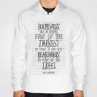 dumbledore Hoodies featuring Albus Dumbledore Quote Inspirational by Go Art