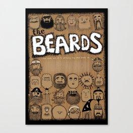 The Beards ~ Beards poster Canvas Print