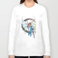 fairy Long Sleeve T-shirts featuring Fairy by clayscence