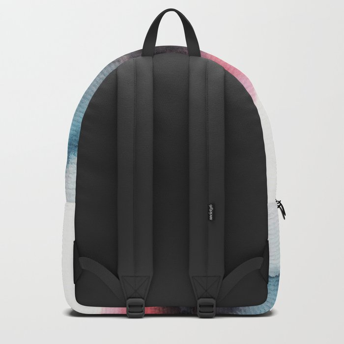 Watercolor abstract landscape 10 Backpack