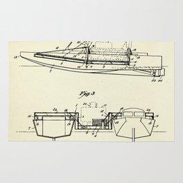 Pontoon Boat 02-1944 Rug