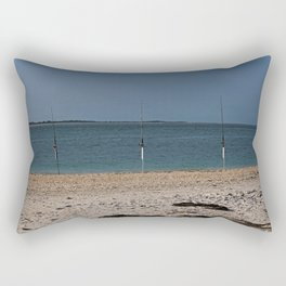 Gone Fishing on Boca Grande Rectangular Pillow