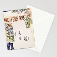French Postage, meet me in Paris Stationery Cards