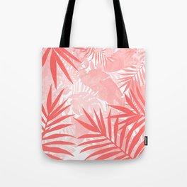 Elegant Tropical Blush Paradise Tote Bag