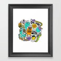 Fun & Cool Framed Art Print