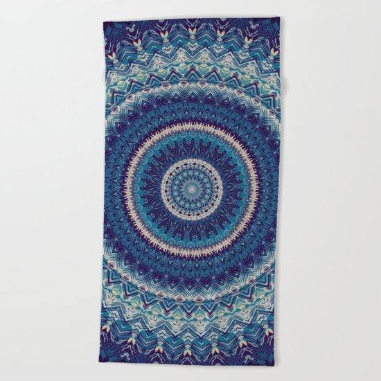Mandala 477 Beach Towel