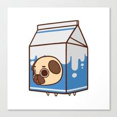 Puglie Milk Carton Canvas Print