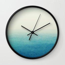 The Big Blue Wall Clock