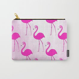 Seamless Flamingo Carry-All Pouch